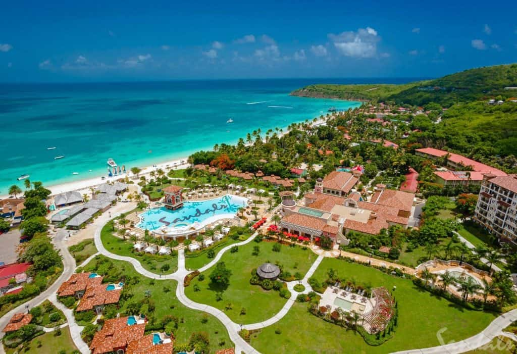 Sandals Grande Antigua Honeymoon Deal