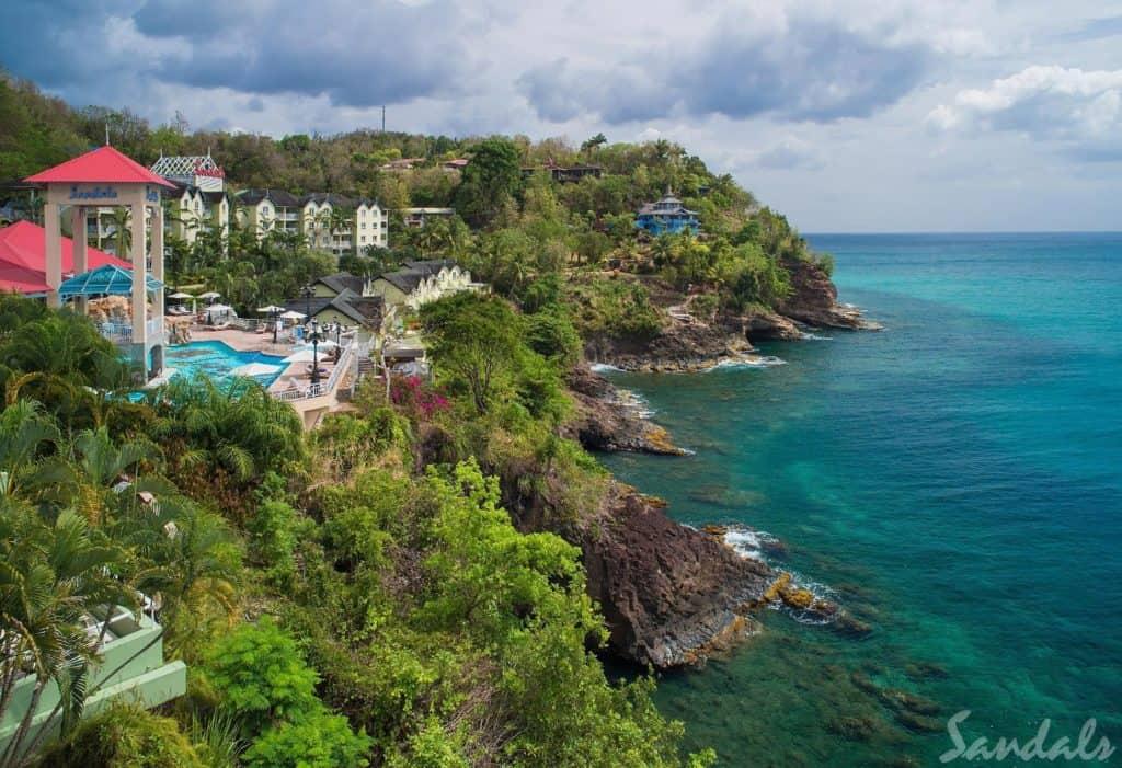 Sandals Saint Lucia Honeymoon Deal