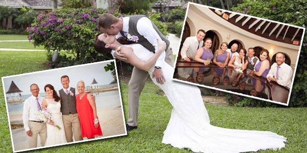 Megan & Kevin Sandals Montego Bay Destination Wedding
