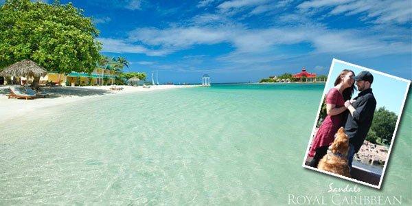 Katlynn & Kyle Sandals Royal Caribbean - WV Honeymoons Review