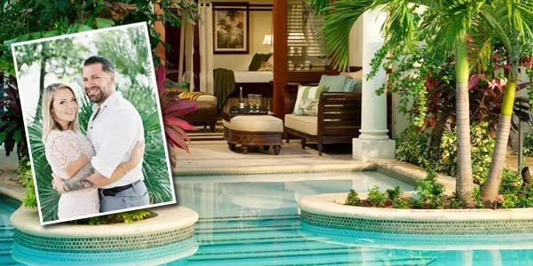 Savana & Kevin Sandals Royal Caribbean & Private Island