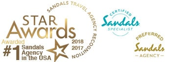 Number 1 Sandals Travel Agency in the USA