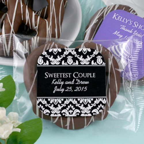 Personalized Gourmet Chocolate Pretzel (Many Designs Available)