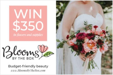 Wedding Giveaway from Blooms By The Box