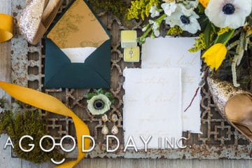 Wedding Giveaway from A Good Day, Inc.