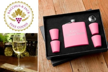 Wedding Giveaway from Bacchus and Jack Fine Goods
