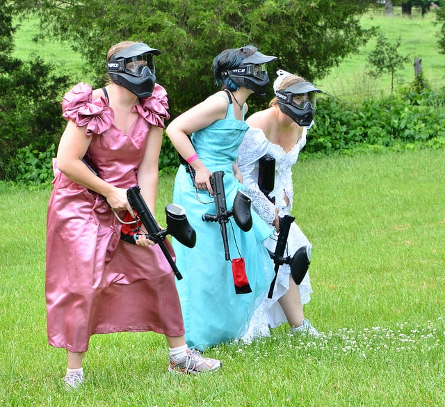 Bachelorette Party Ideas Paintball