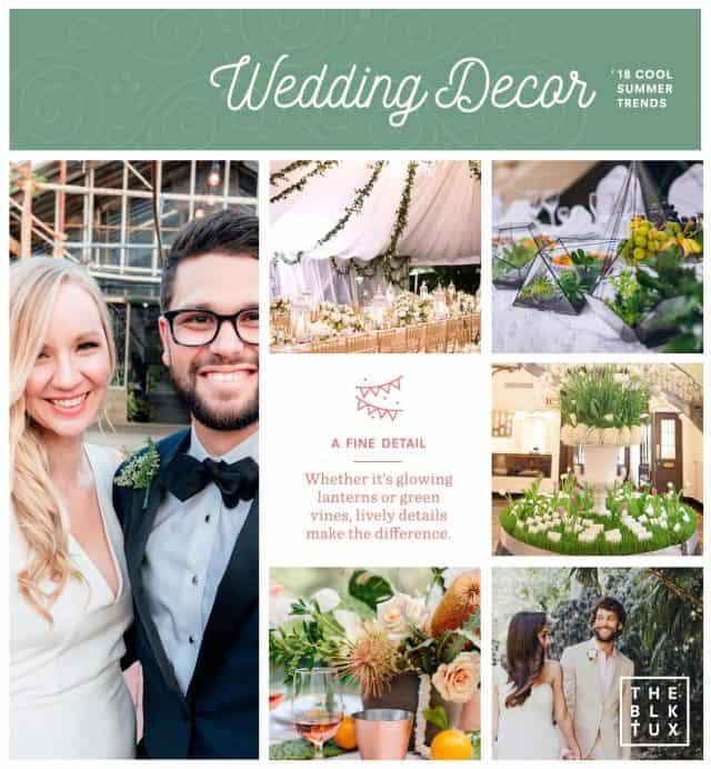 Summer Wedding Decor Trends