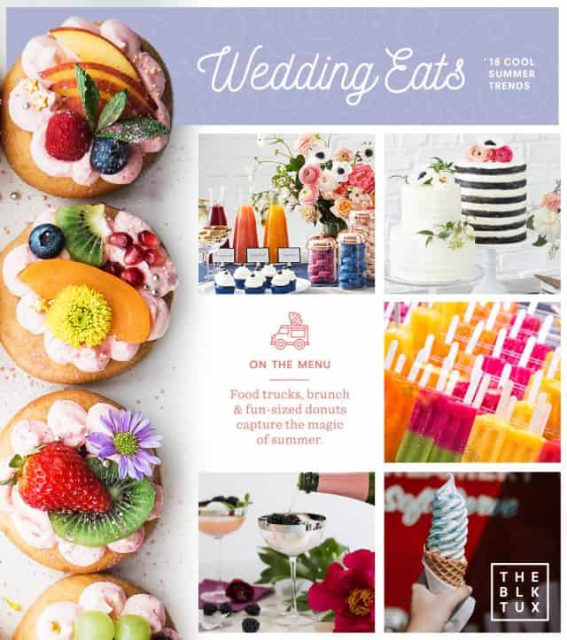 Summer Wedding Food Trends