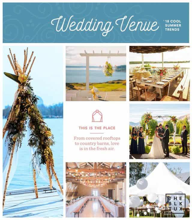 Summer Wedding Venue Trends