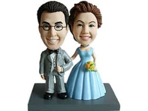 Unique cake topper idea