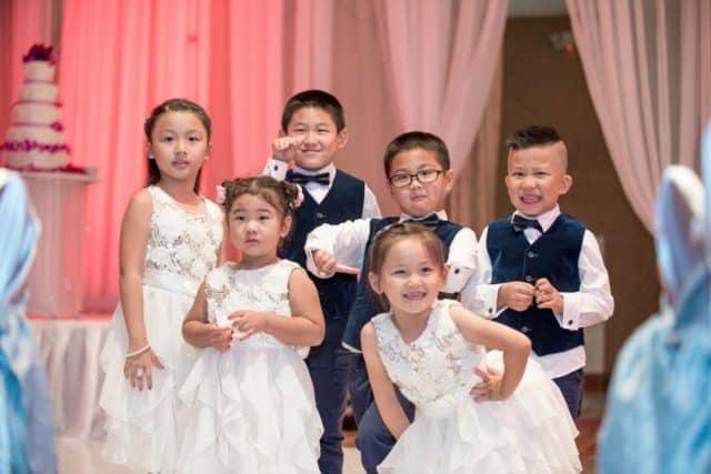 Children at the Wedding!