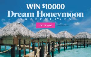 Dream Honeymoon Sweepstakes from Martha Stewart Weddings
