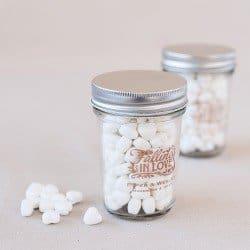 Fall Wedding Favors Personalized Mason Jar
