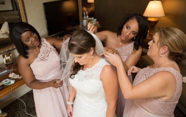 Helping Bride