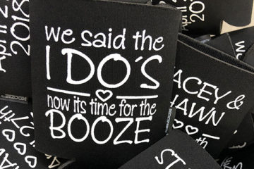 Wedding Giveaway from Kustom Koozies