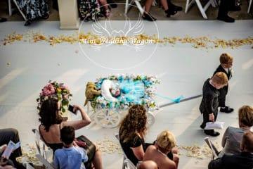 Wedding Sweepstakes and Contests - Flowergirl Wagon Giveaway