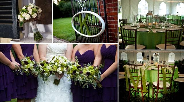 Purple And Green Wedding.Purple And Green Wedding Inspiration Weddingvibe Com