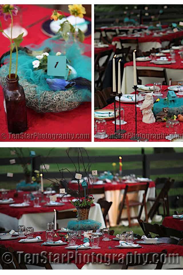 Beautiful wedding decor on a budget