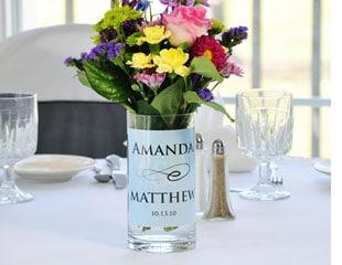 Personalized Wedding Vases Weddingvibe Com
