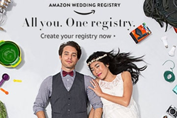 Wedding Deal from Amazon Wedding Registry