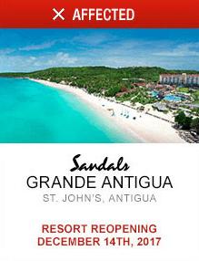Grande Antigua Affected