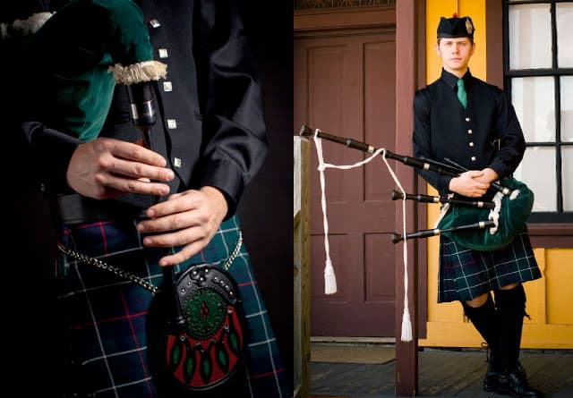 Bagpipes for  your wedding