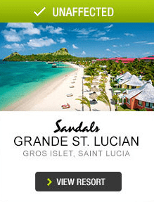 Grande St. Lucian Unaffected