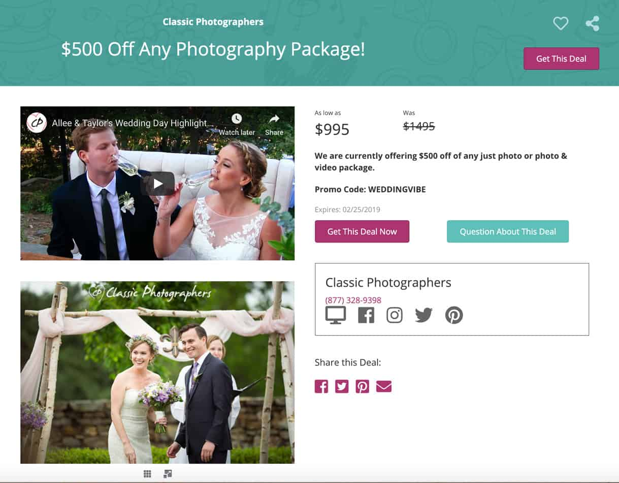 Full Page Wedding Advertisement Included Free