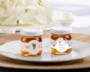 Personalized English Garden Clover Honey
