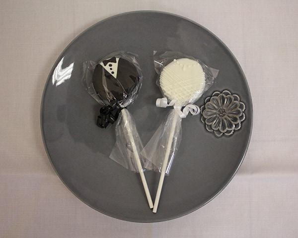 Bridal Oreor Cookie Pop Favors