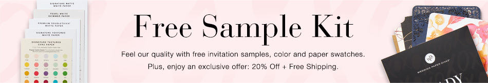 Free Samples of My Wedding Invitations