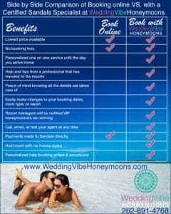 Why you should book your vacation through WeddingVibeHoneymoons.com