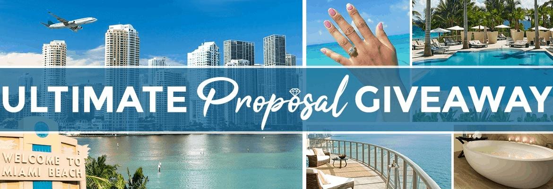 ultimate proposal giveaway - proposal sweepstakes