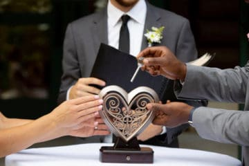 Wedding Sweepstakes and Contests - Unity Heart Giveaway