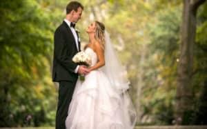 Wedding Couple Sleep