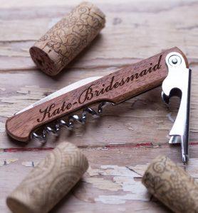 Customized wine opener
