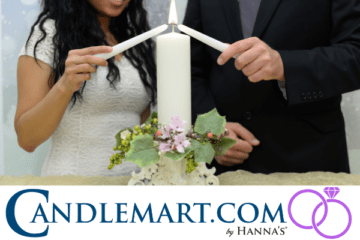 Wedding Giveaway from Candlemart