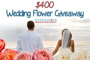Wedding Giveaway from Global Rose