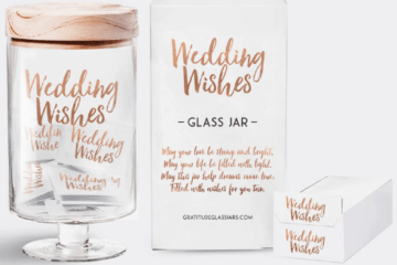 Wedding Giveaway from Gratitude Glass Jars