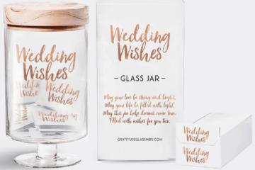Wedding Sweepstakes and Contests - Wedding Wishes Glass Jar Giveaway