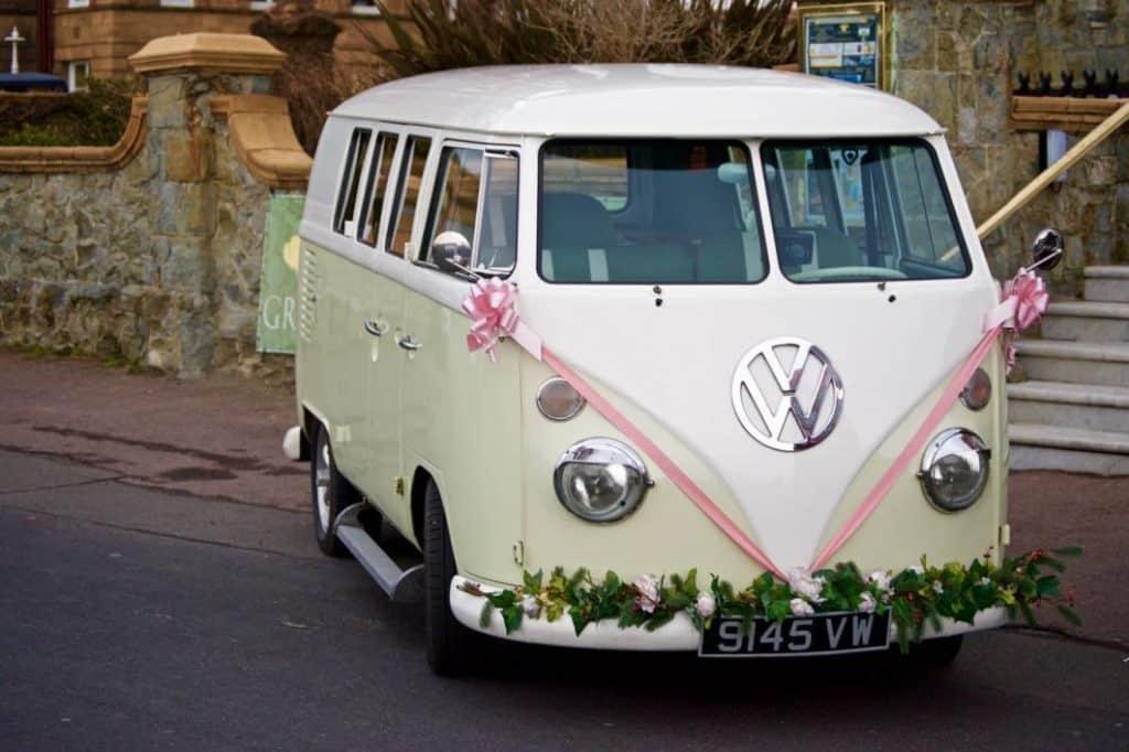 BOHO Wedding Van