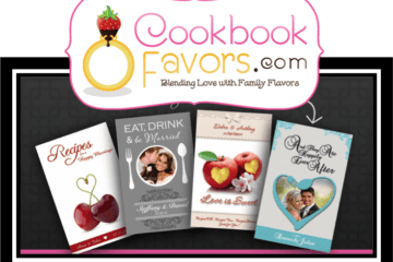 Wedding Giveaway from Cookbookfavors.com