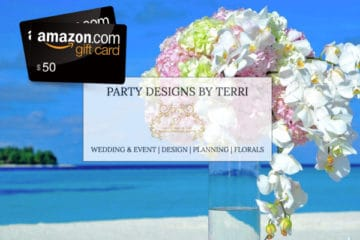 Wedding Giveaway from Party Designs by Terri